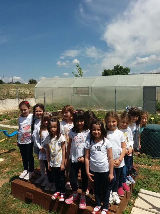 Επίσκεψη της Α Δημοτικού στο αγρόκτημα του σχολείου μας