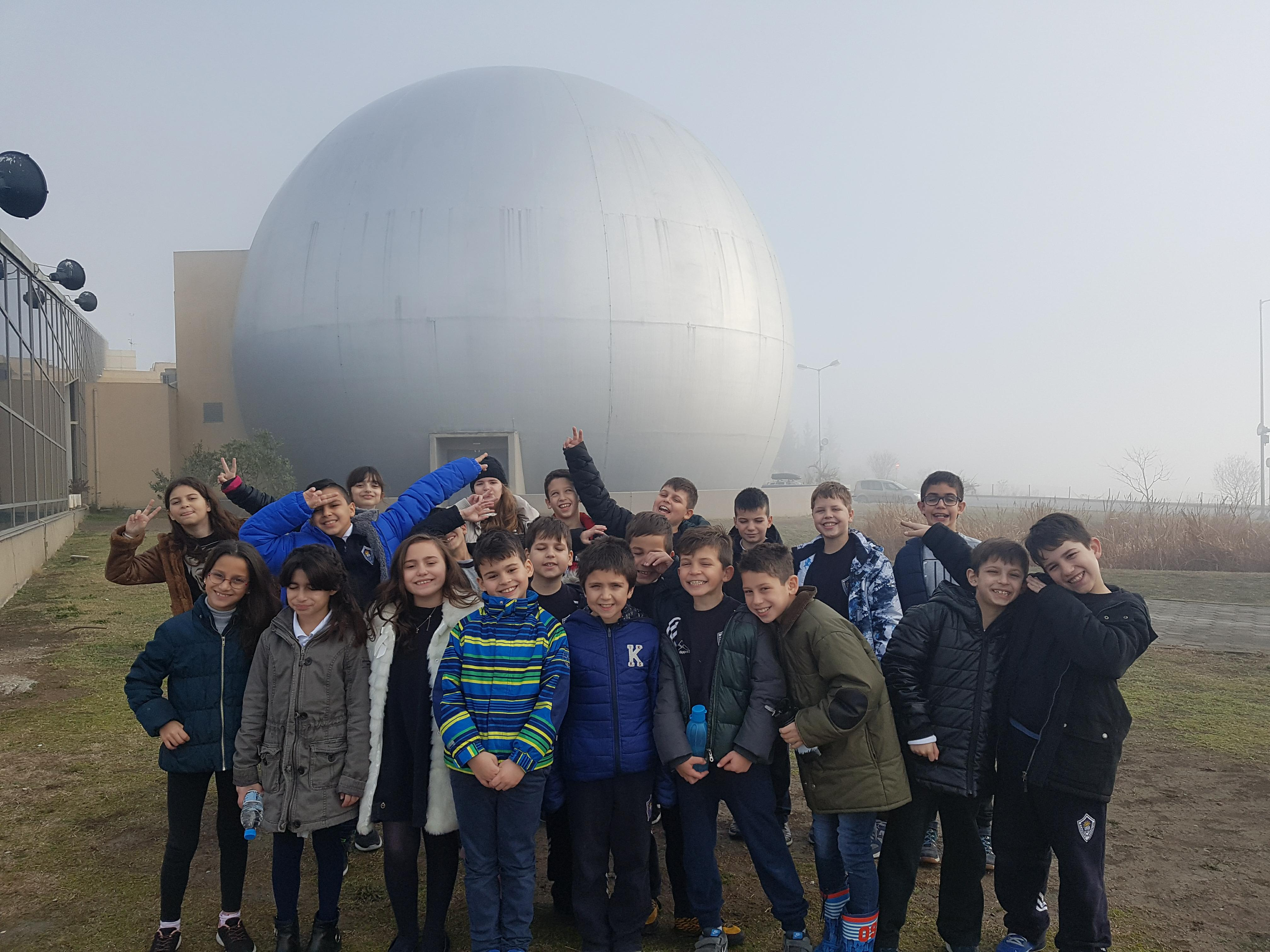 Επίσκεψη των μαθητών της Δ'τάξης του Δημοτικού στο Πλανητάριο