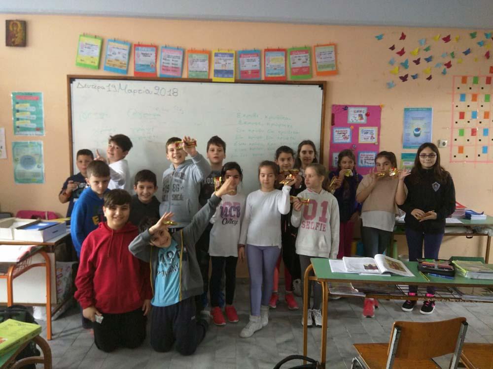 Διαδραστική μουσικοθεατρική εκδήλωση για τους μαθητές της Δ Δημοτικού