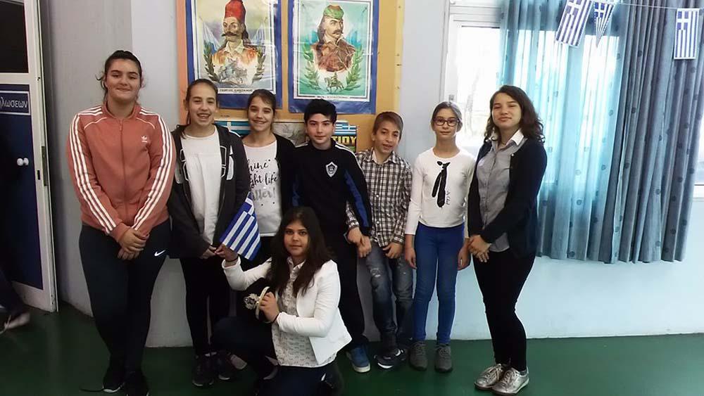 25η Μαρτίου: Εθνική Επετειακή εκδήλωση και θρησκευτική εορτή στο Δημοτικό του Ελληνικού Κολλεγίου Θεσσαλονίκης