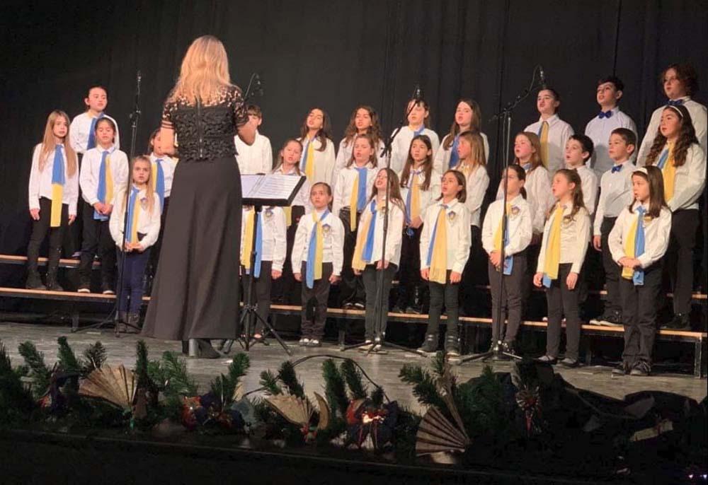 Εκδηλωσεις της παιδικής χορωδίας του Ελληνικού Κολλεγίου Θεσσαλονίκης