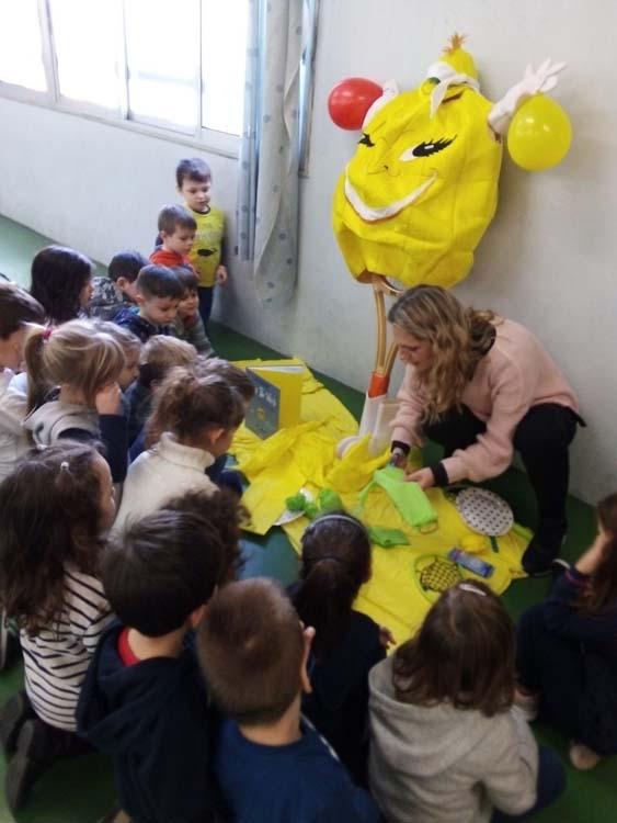 Βιβλιοπαρουσιάση στο Νηπιαγωγείο του Ελληνικού Κολλεγίου Θεσσαλονίκης