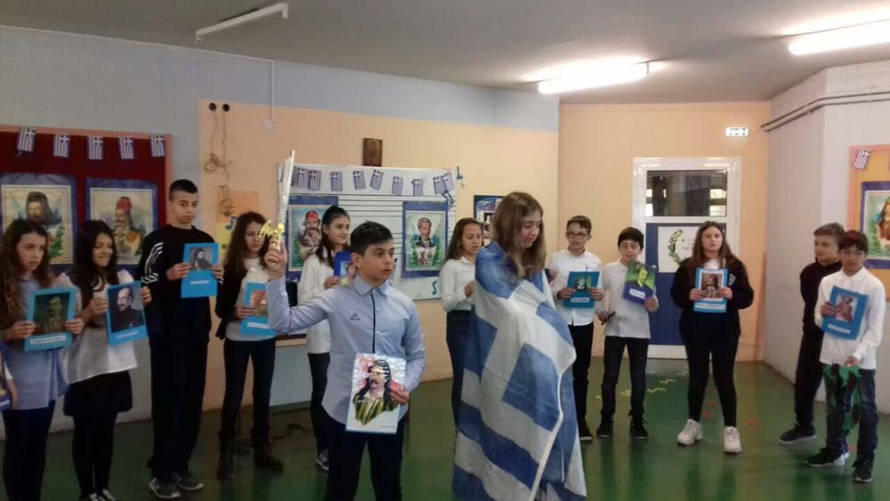25η Μαρτίου: Εθνική Επετειακή εκδήλωση και θρησκευτική γιορτή στο Νηπιαγωγείο -Δημοτικό του Ελληνικού Κολλεγίου Θεσσαλονίκης