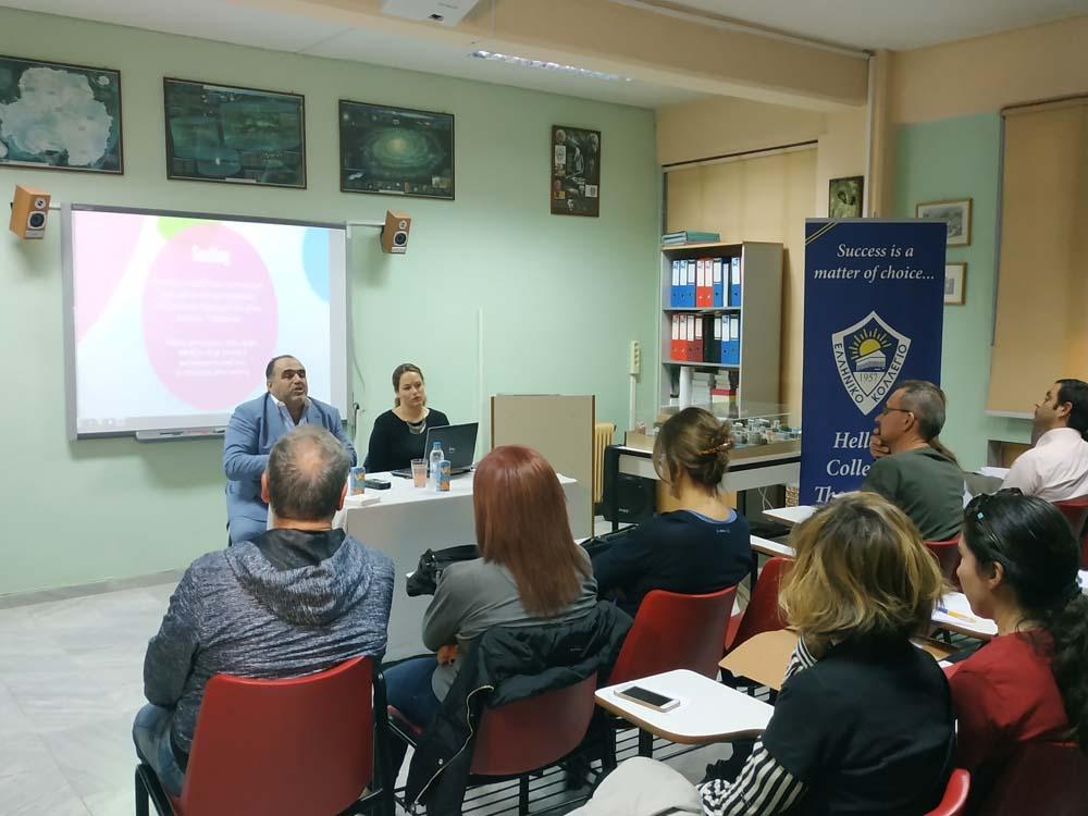 Ημερίδα Ελληνικού Κολλεγίου Θεσσαλονίκης: «Ασφάλεια στο Διαδίκτυο» με ομιλητή τον κ. Εμμανουήλ Σφακιανάκη