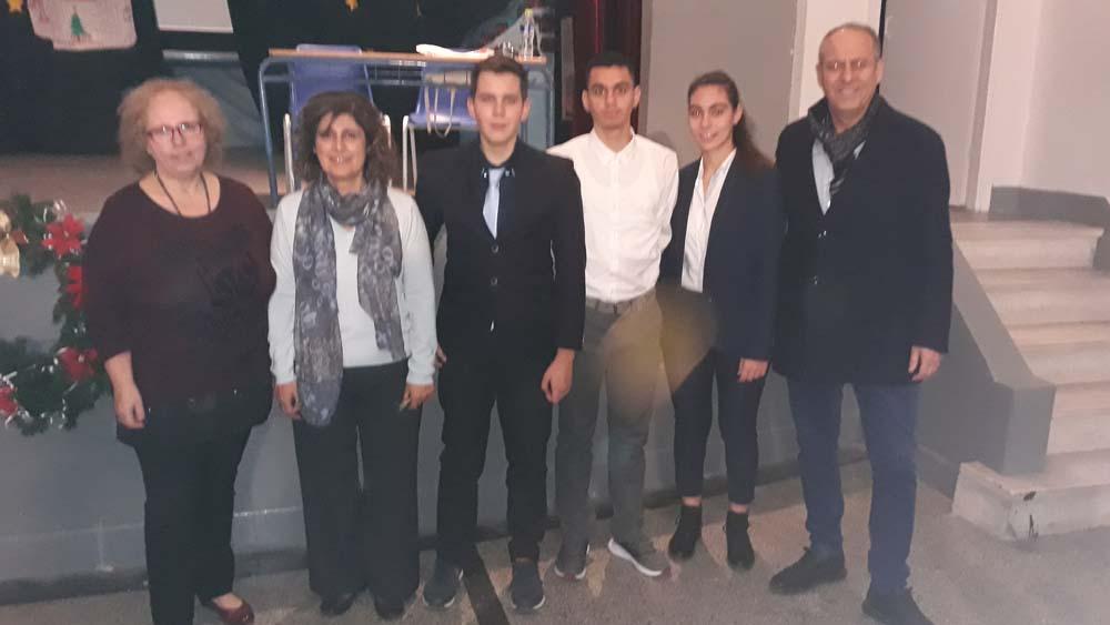 Βραβεία στους διαγωνισμούς πειραμάτων EUSO