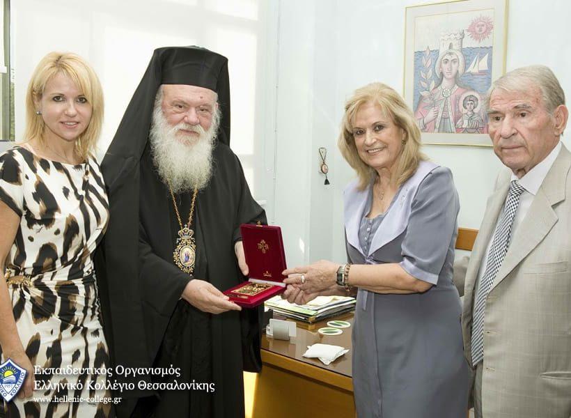 Επίσκεψη του Μακαριωτάτου Αρχιεπισκόπου κ.κ. Ιερώνυμου στο Ελληνικό Κολλέγιο Θεσσαλονίκης