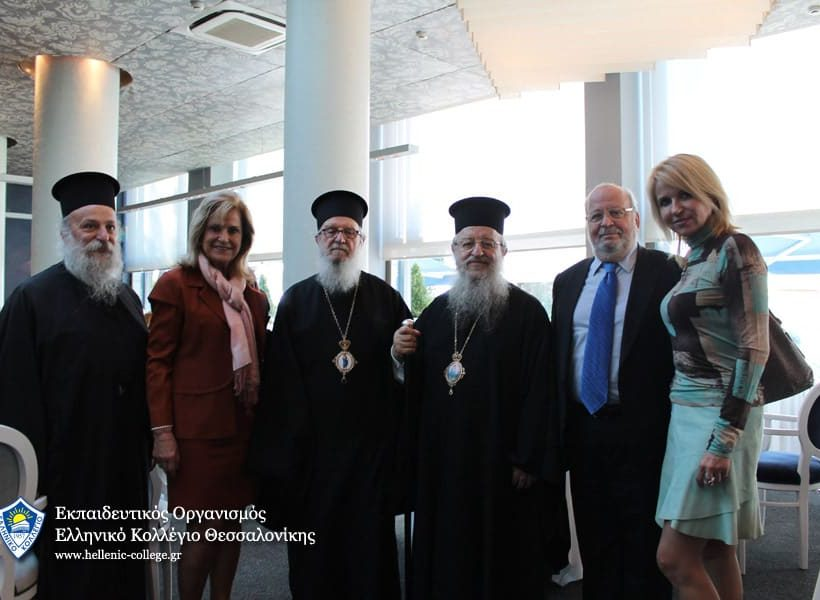 Συνάντηση του Αρχιεπισκόπου Αμερικής κ.κ Δημητρίου με τη Διεύθυνση του Ελληνικού Κολλεγίου Θεσσαλονίκης